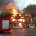 Elderly businessman dies in early morning fire on Main Street