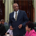 "Harmon chides PPP for being ""blind"" to Government's agenda"
