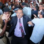 """Teixeira demands Speaker stands down as PPP MPs claim """"Police assault"""" during move to remove Edghill"""