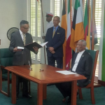 Former Magistrate takes oath of office as newest Justice of Appeal