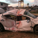 Two die in West Coast accident as drunk driver loses control and slams into power pole