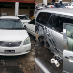 More stolen cars and car parts recovered during another raid at Kuru Kururu