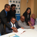 Guyana and CDB sign US$218,000 grant to boost local democratic organs