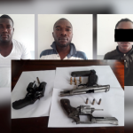 Teenager and two men arrested in gun running operation