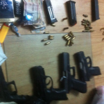 Six robbery suspects arrested at road block after failed robbery attempt