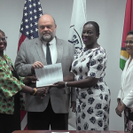 Education Ministry and Peace Corps Guyana sign new agreement to support local education initiatives