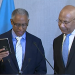 New President of Caribbean Court of Justice takes Oath of Office