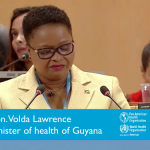 Guyana's Public Health Minister to serve on WHO Executive Board
