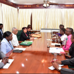 President meets with GTU and Education Ministry Officials on ongoing dispute
