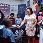 First Lady urges more Guyanese to speak out against all forms of violence