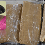 55-year-old woman busted with cocaine strapped to thighs