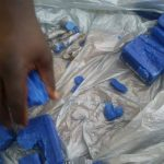Woman nabbed with marijuana in blue soap at Lusignan Prison