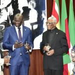 President accepts credentials of new Suriname Ambassador