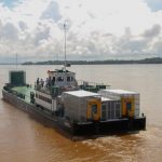 Sandaka to provide temporary relief ferry operations for Guyana/Suriname crossing