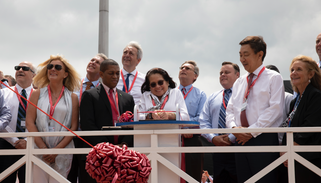 Exxon's oil production vessel for Guyana Commissioned - News Source