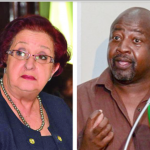 Gail Teixeira and David Hinds clash over elections preparations and voters' list