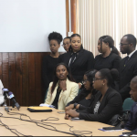 Guyanese law students at Hugh Wooding meet AG on issues at the regional law school