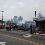 Two dead as early morning fire ravages several Vreed-en-hoop businesses