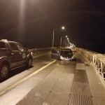 BREAKING: Tug and Barge slam into Demerara Harbour Bridge, forcing closure until further notice
