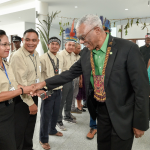 President pushes development agenda at National Toshaos' Conference