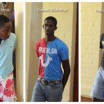 Trio remanded to jail over caught on camera robbery at bus park