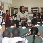 Education Minister meets with students and teachers of Richard Ishmael Secondary after schoolyard brawl