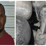Berbice man busted with over 100 pounds of marijuana in car trunk