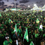 President makes case for second term at launch of APNU+AFC campaign