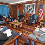 President assures US Congressional team of Guyana's elections preparations
