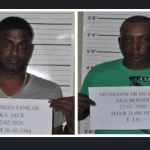 Two remanded to jail over 60-pound cocaine bust