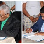 Political Parties sign GECOM Code of Conduct for Elections