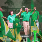 President lays out case for re-election with his vision for Guyana
