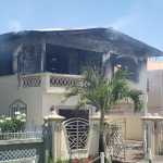 Fire suspected to be electrical in origin destroys Lamaha Gardens house