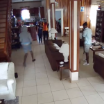 Three suspects arrested in caught on camera home robbery