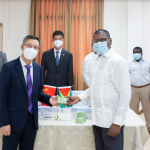 China donates more medical supplies to Public Health Ministry