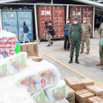 CDC receives sanitary and other supplies from US Govt.