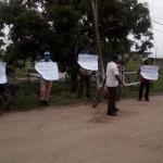 Police break up sugar workers protest at Uitvlugt