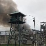 Fire at Lusignan prison contained; Joint Services in place