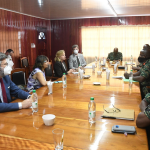 ABCE Diplomats meet with GDF Top Brass