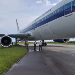 Eastern Airlines aircraft skids off CJIA runway;  No  injuries reported