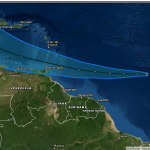 Guyana likely to experience thunderstorms as Tropical Storm moves across Atlantic