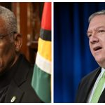 Pompeo attempted to make contact with President Granger before announcing visa restrictions