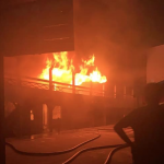 Fire guts Chase Academy building in Kingston