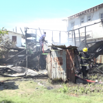 Afternoon fire leaves Sophia family of five homeless