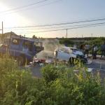 Three persons die in East Coast smash-up