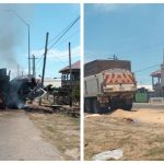 Protests over Cotton Tree killings spread to several villages; Trucks set on fire