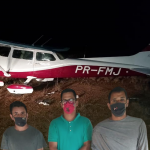 Brazilians and Venezuelan arrested after crash-landing of plane in Issanno