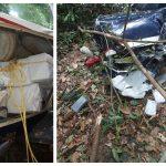 Man found dead in crashed drug plane identified as Brazilian national; Injured pilot is known drug trafficker