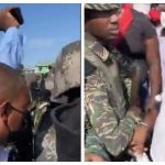 Prime Minister and other Ministers shouted down and blocked during West Berbice village