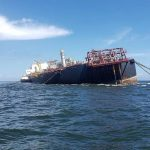 Guyana's CDC closely monitoring sinking oil tanker near Trinidad and Venezuela
